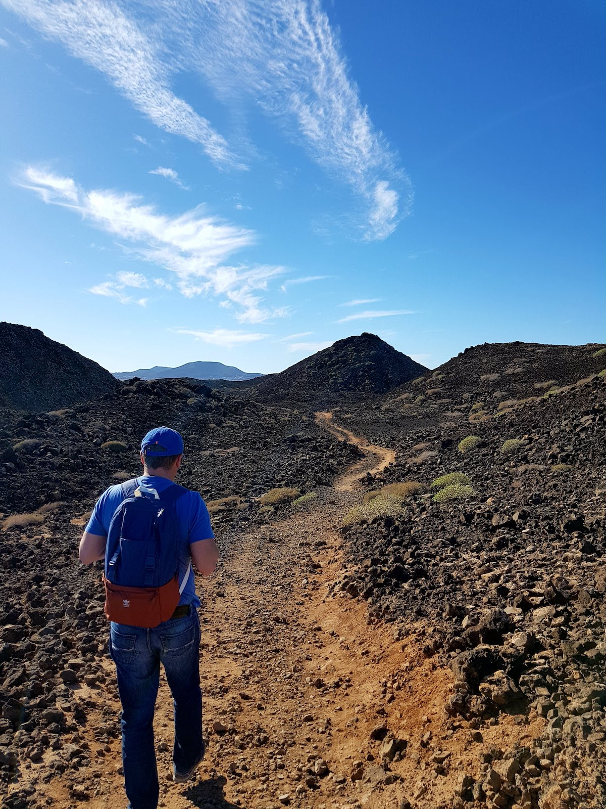 Wanderung auf Isla de Lobos - wie auf einem fernen Planeten