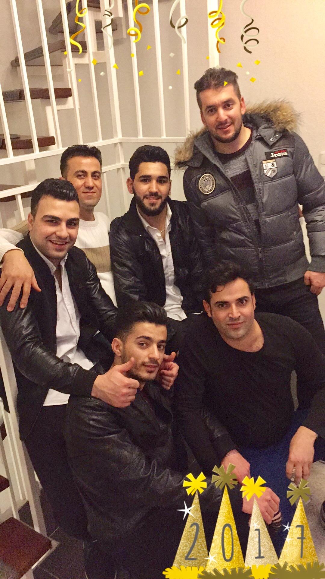"""Silvester-Party mit """"unseren"""" Flüchtlingen bei uns zuhause"""