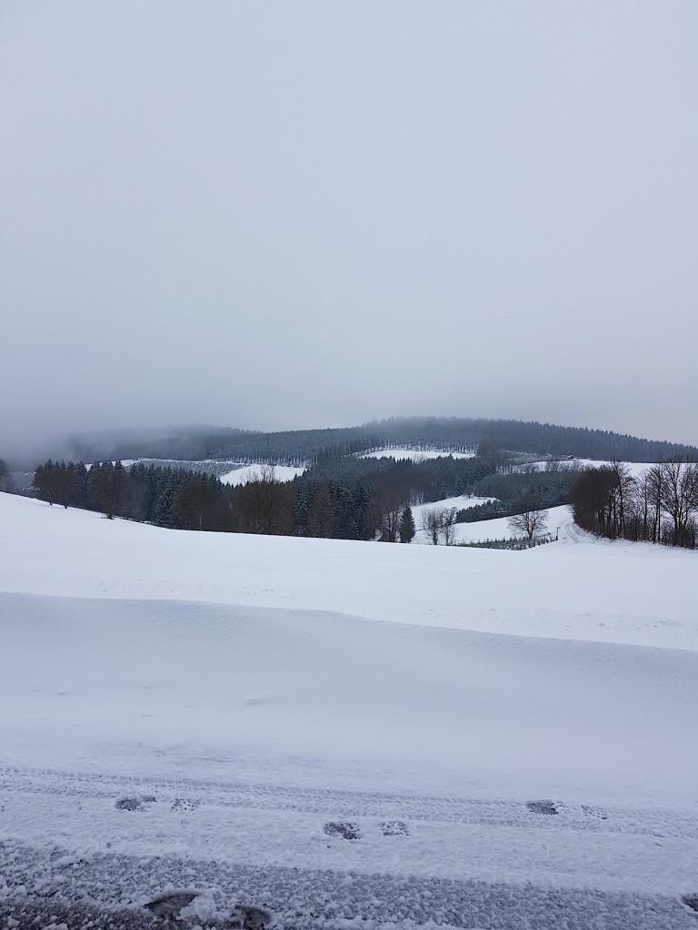 Winterurlaub im Sauerland mit viel Schnee