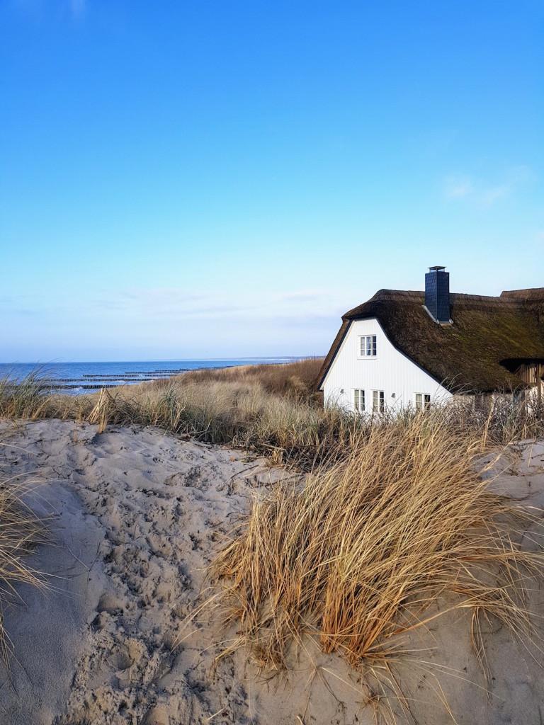 Wochenendurlaub in Ahrenshoop im Winter