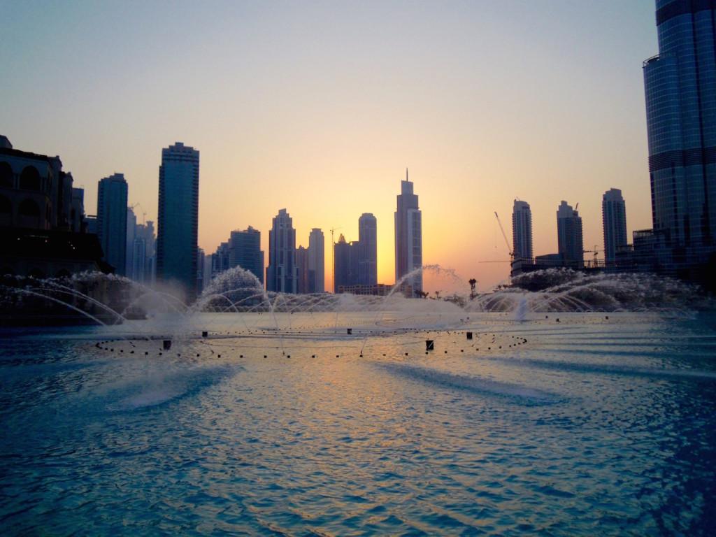 Dubai Mall - Die höchsten Wasserfontänen der Welt