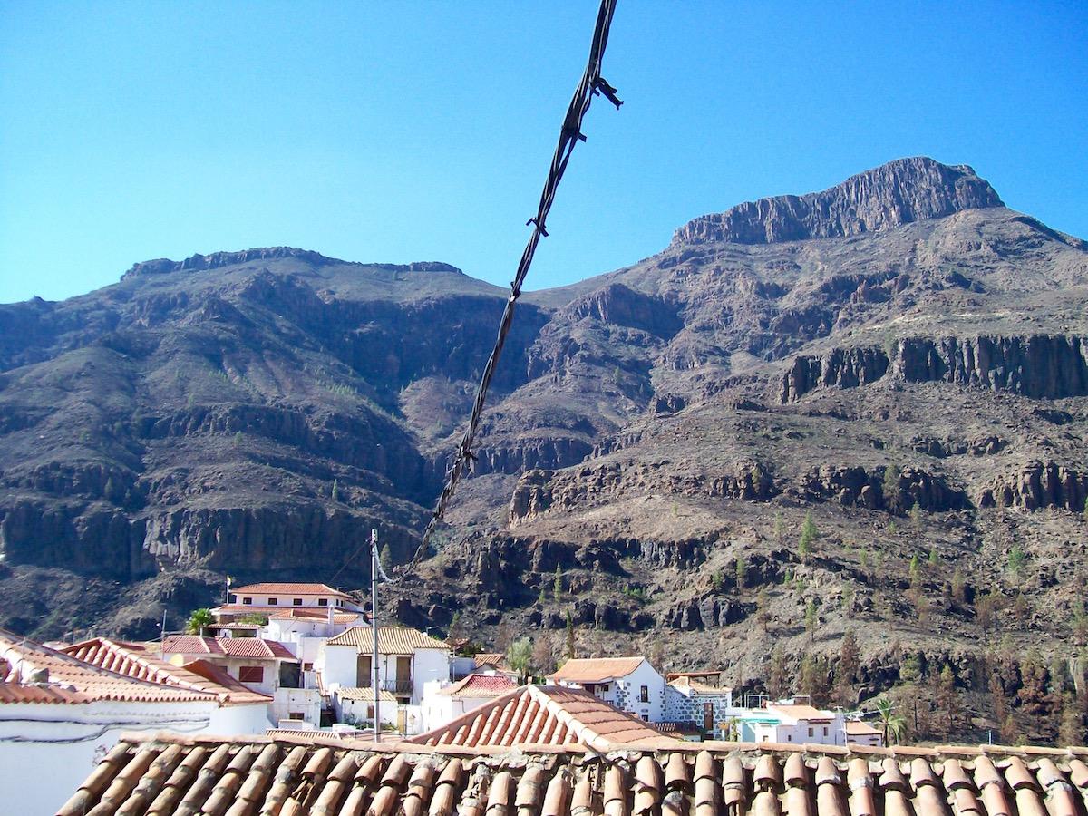 Ausflug in das schöne Bergdorf Fataga auf Gran Canaria