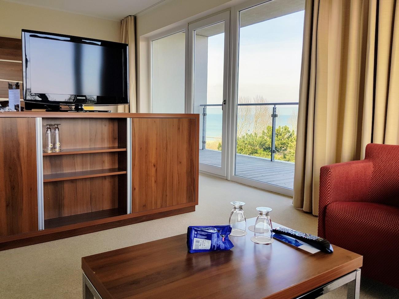 Hotelzimmer mit Meerblick im The GRAND Ahrenshoop