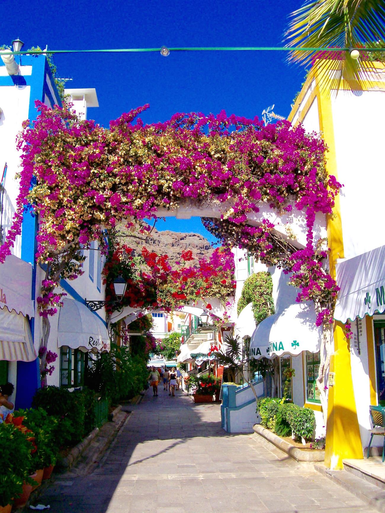 Puerto de Mogan auf Gran Canaria: Romantischer Ort für Liebespaare