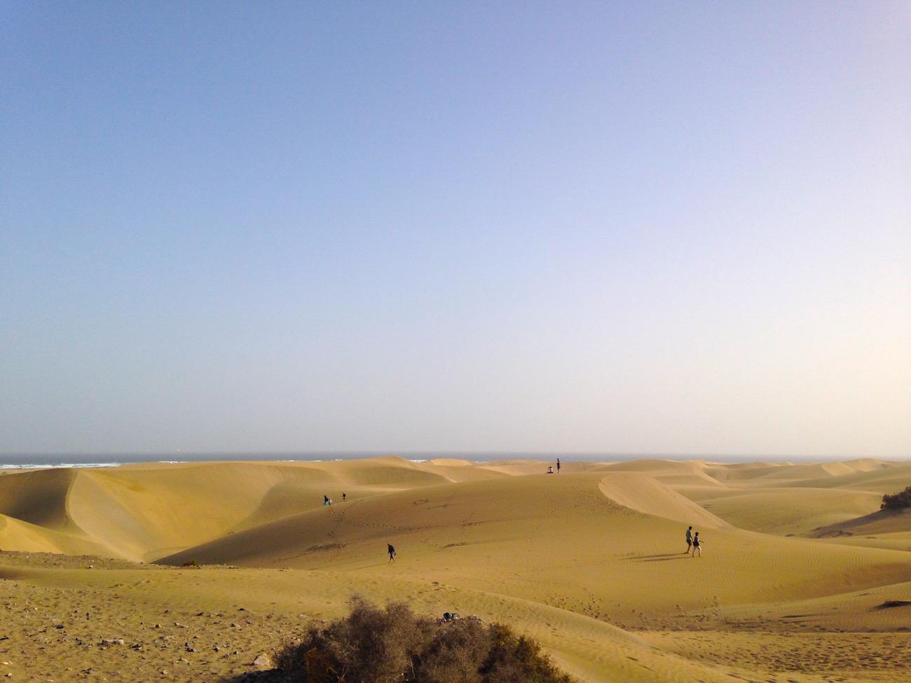 Gayurlaub in Spanien: Cruising Area in den Dünen von Maspalomas