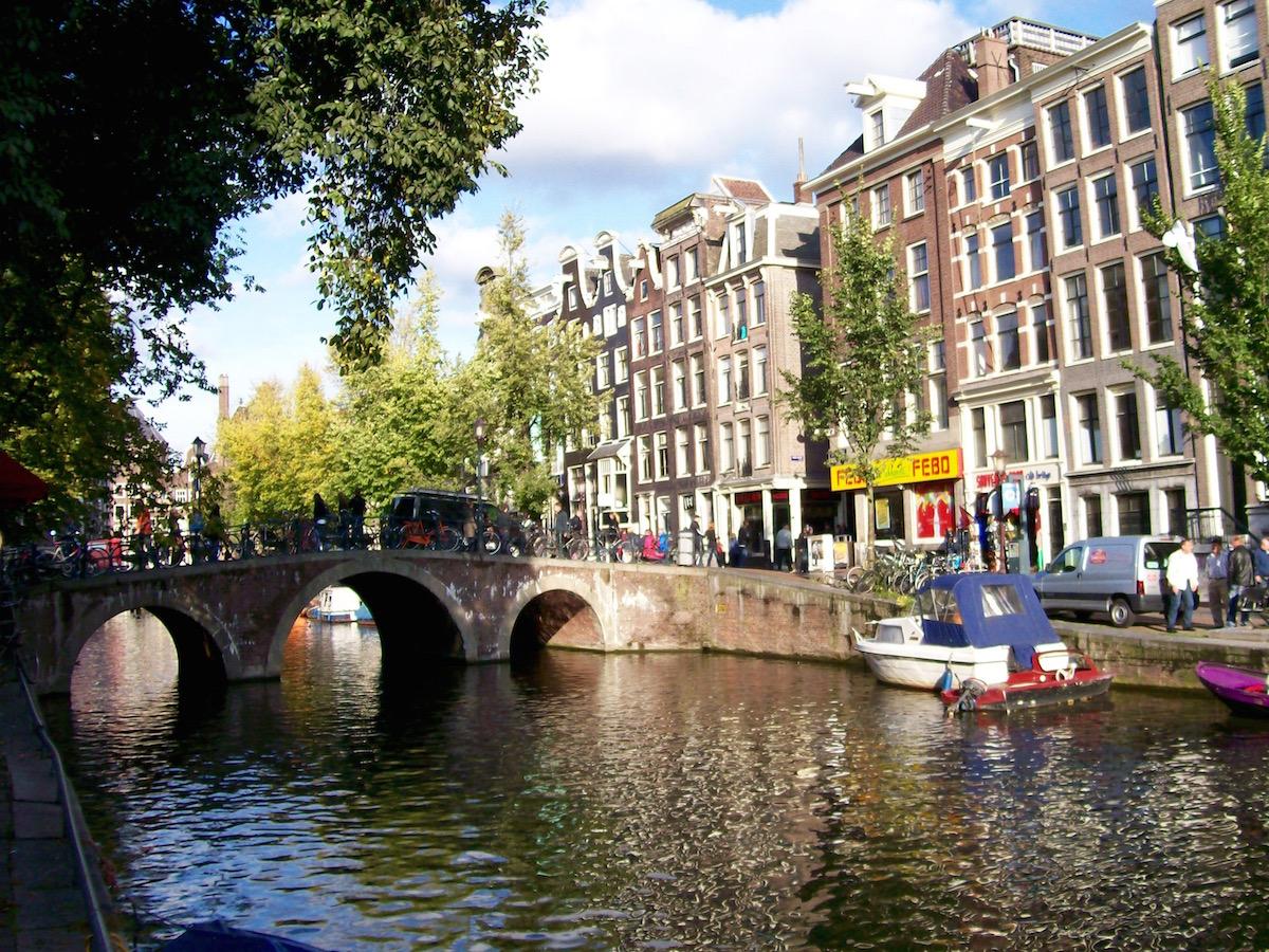 Dasa perfekte Ziel für Gayreisen ist Amsterdam