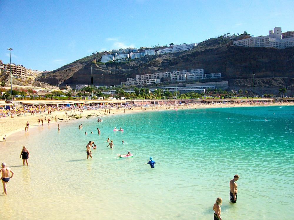 Amadores Beach zählt zu den schönsten Stränden auf Gran Canaria