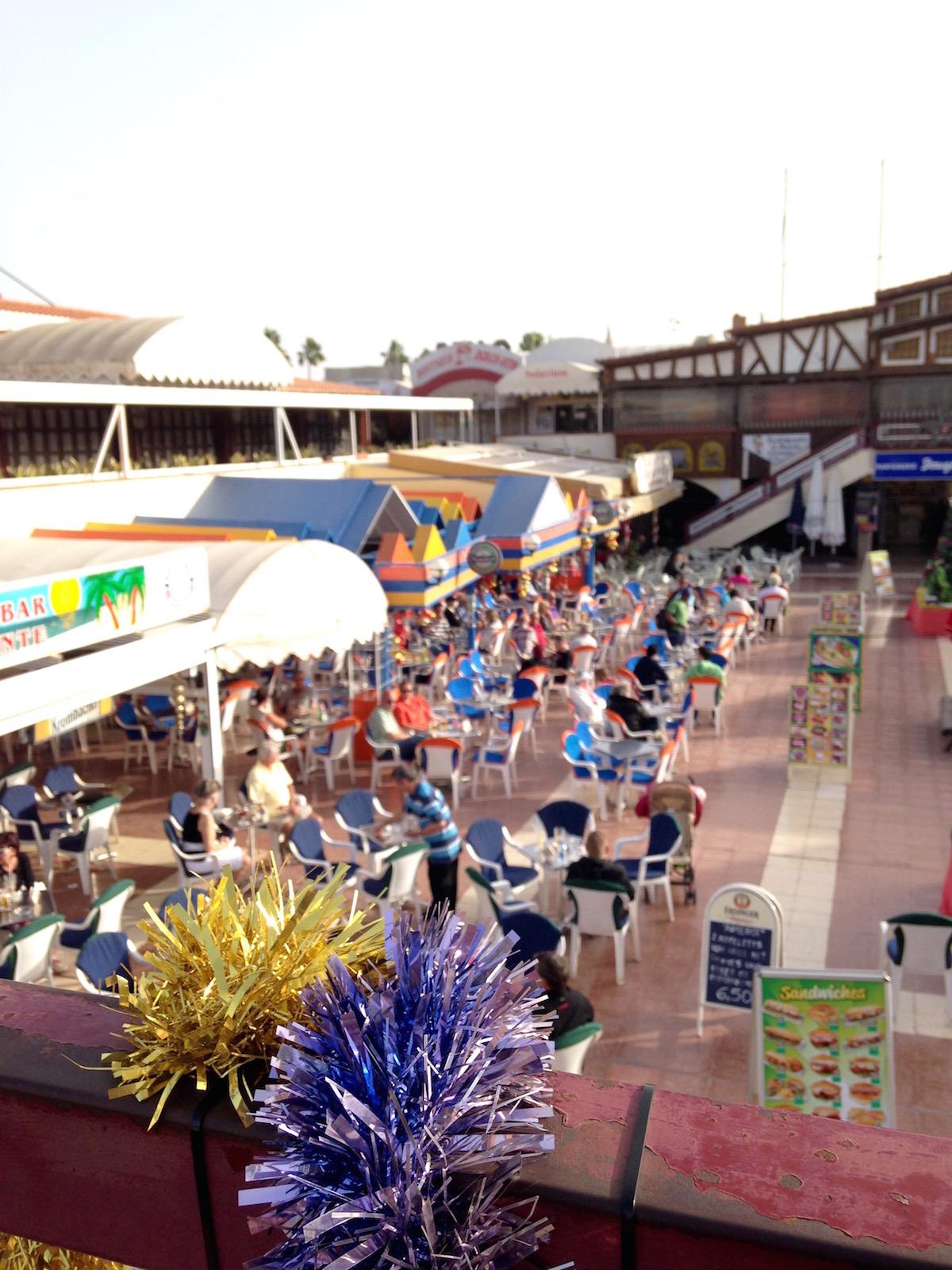 In Playa del Incles ist auf Gran Canaria am meisten los