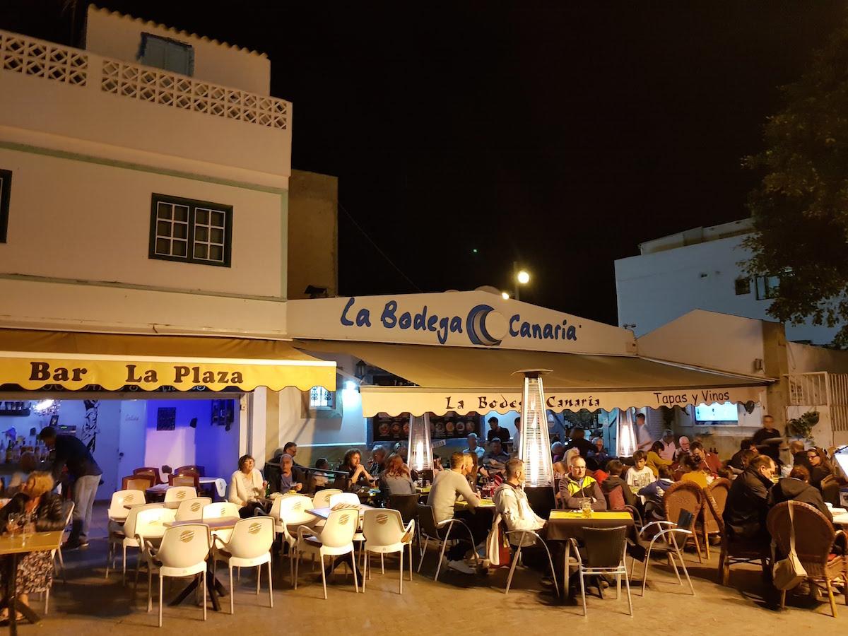 Fuerteventura: In der Altstadt von Corralejo ist abends am meisten los