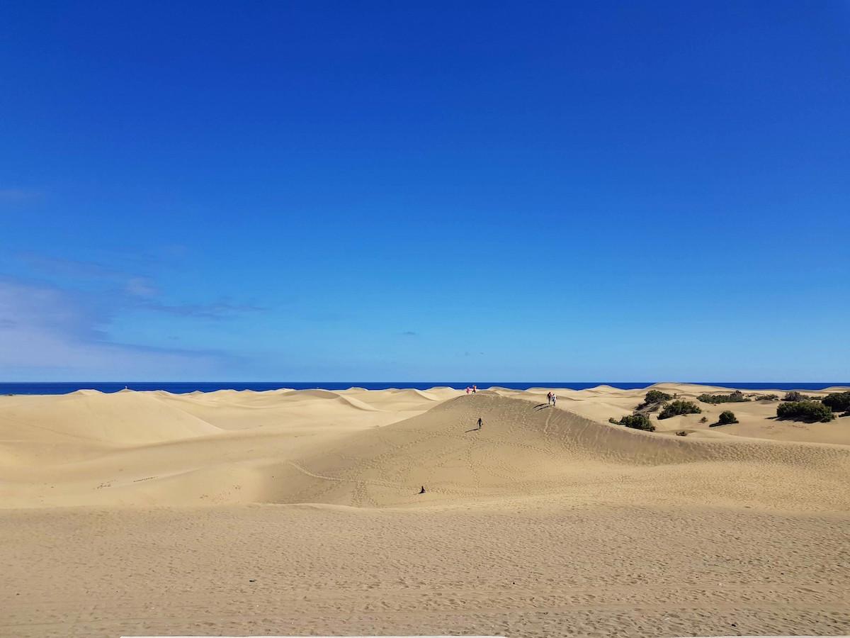 Die Dünen von Maspalomas - einer der schönsten Orte auf Gran Canaria