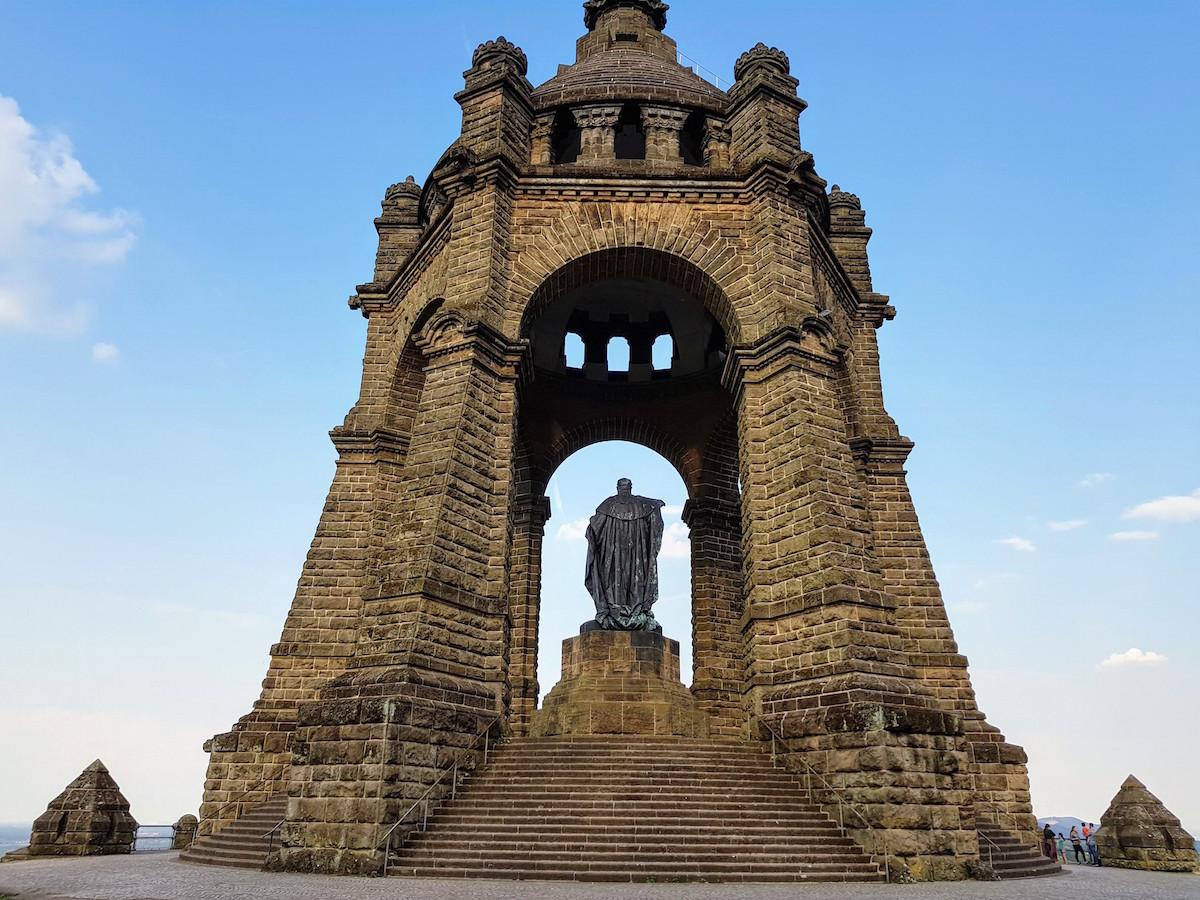 Kaiser-Wilhelm-Denkmal in Porta Westfalica