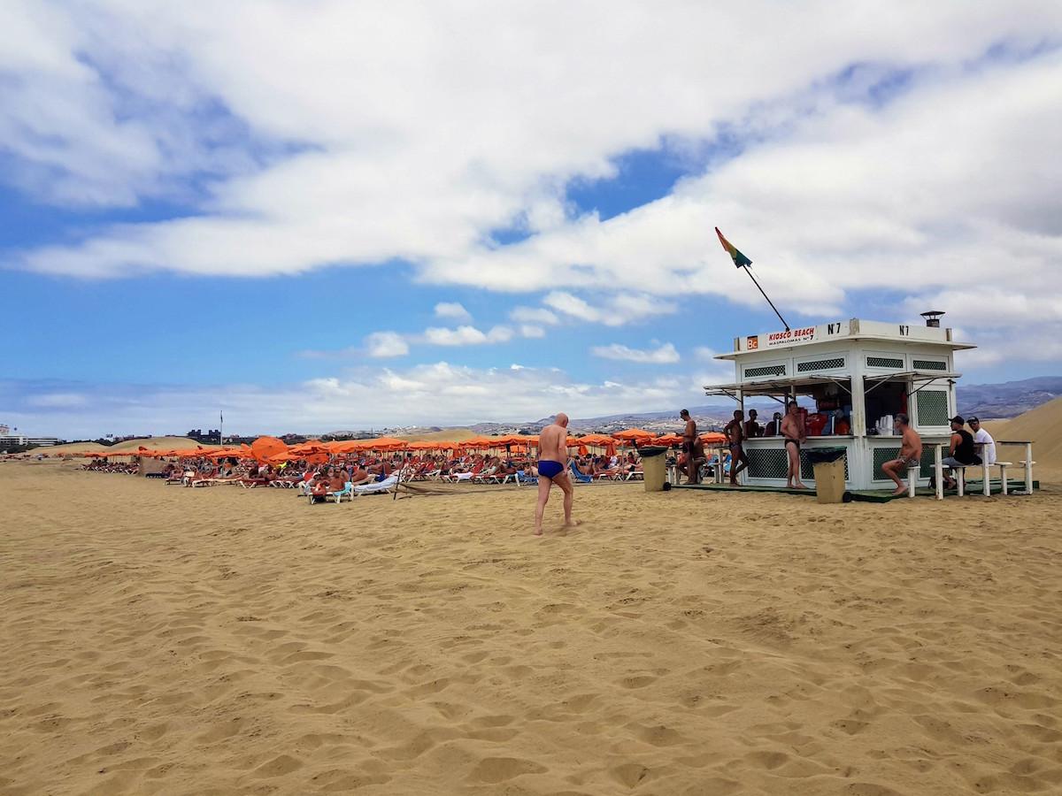 Gayreisen Playa del Ingles: Der schwule Strand und Cruisung in den Dünen von Maspalomas gehören dazu
