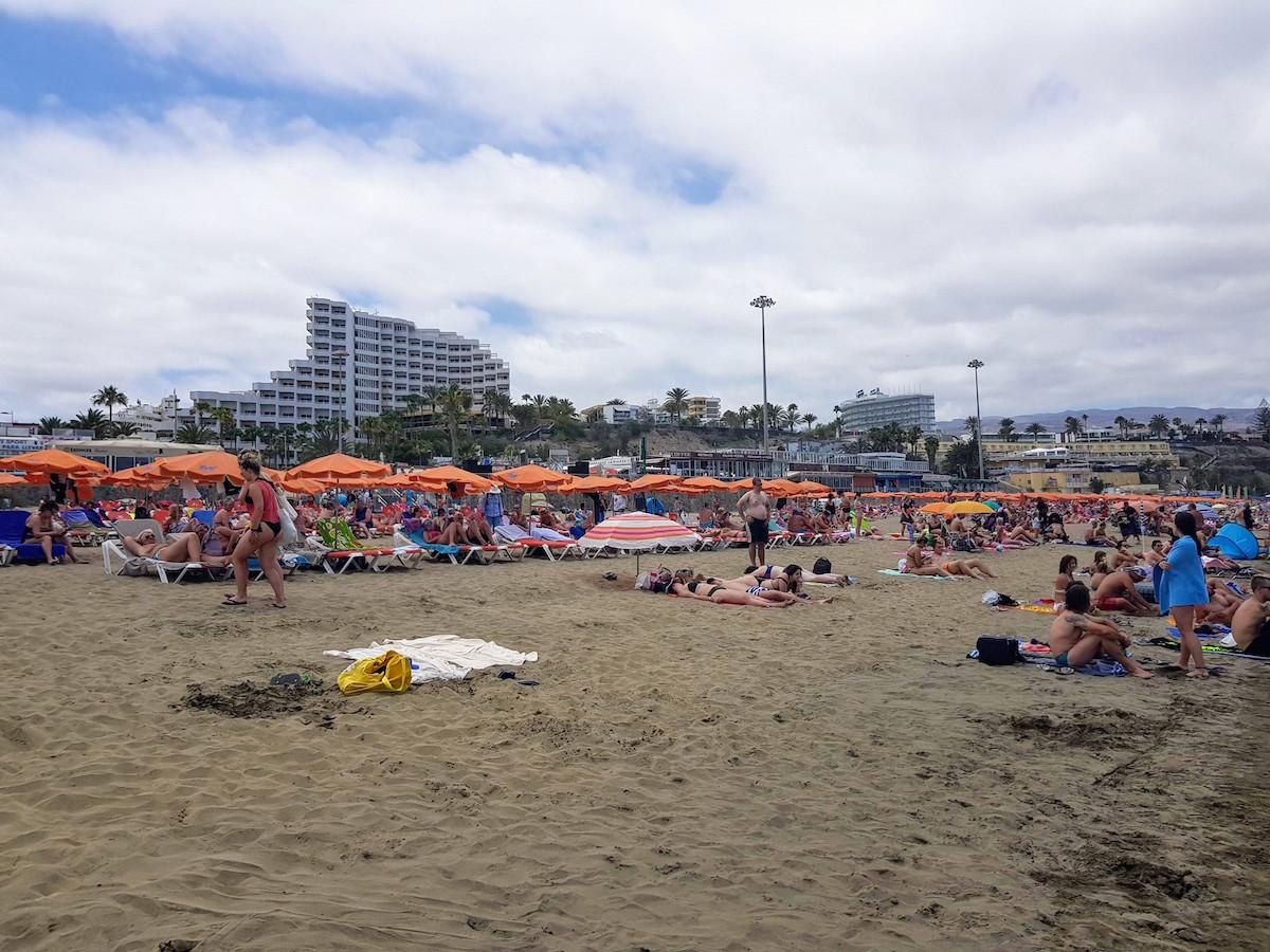 Strand von Playa del Ingles