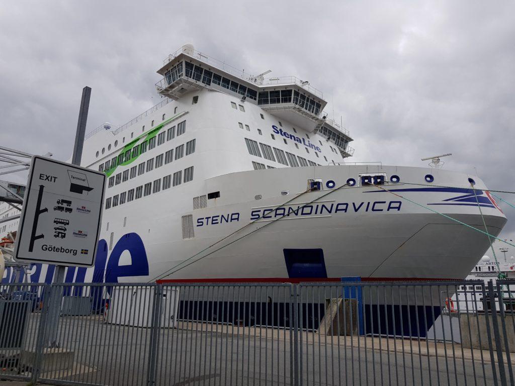 Stena Scandinavica in Kiel
