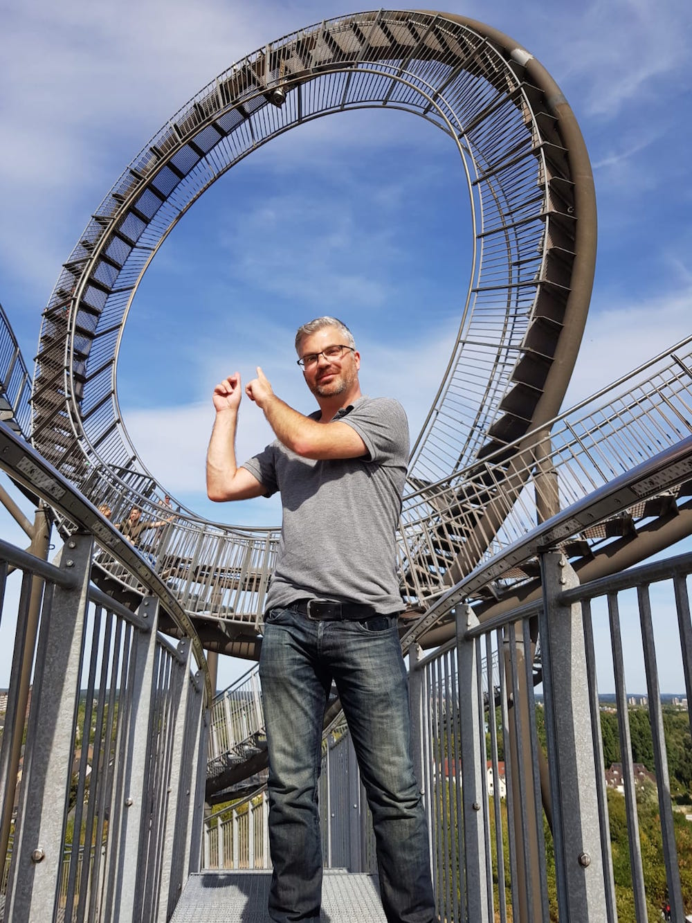 Tiger and Turtle - Magic Mountain: Die begehbare Achterbahn im Ruhrgebiet