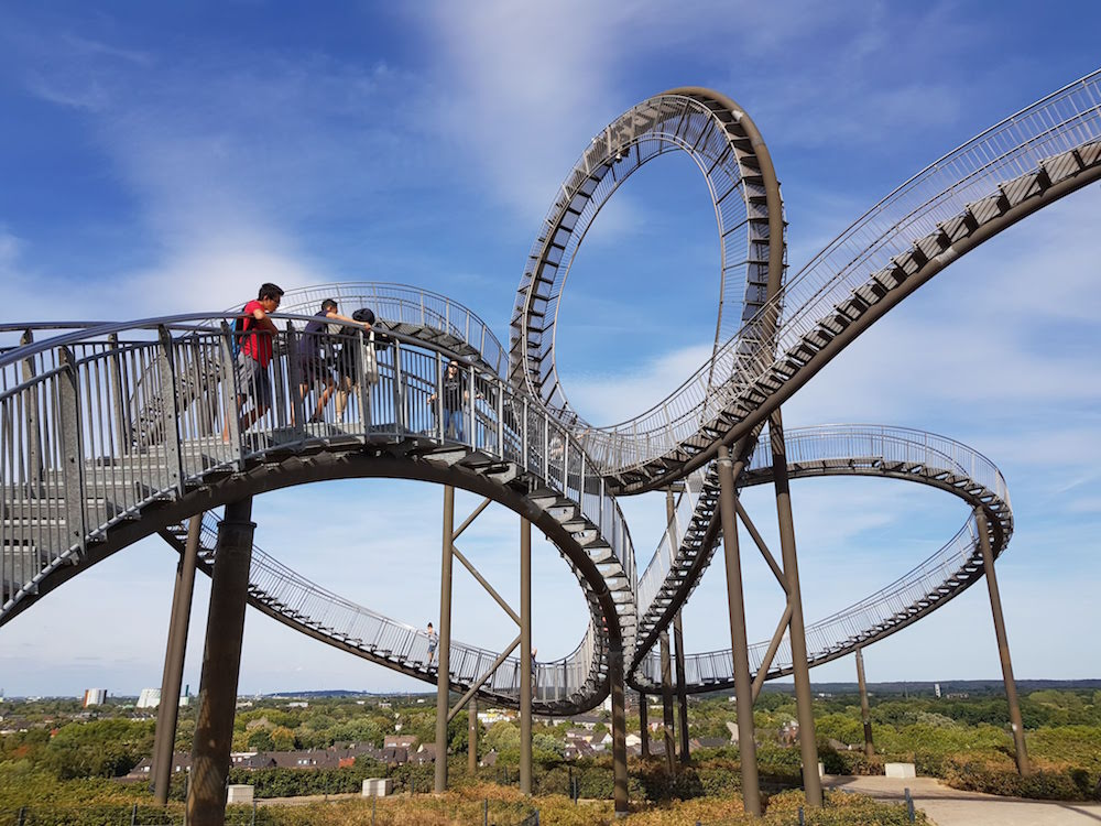 Tiger and Turtle - Magic Mountain in Duisburg