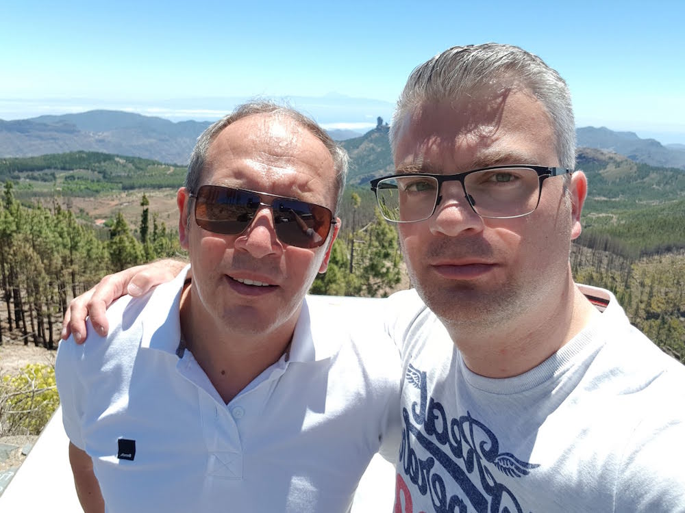 Pico de las Nieves Ausflug