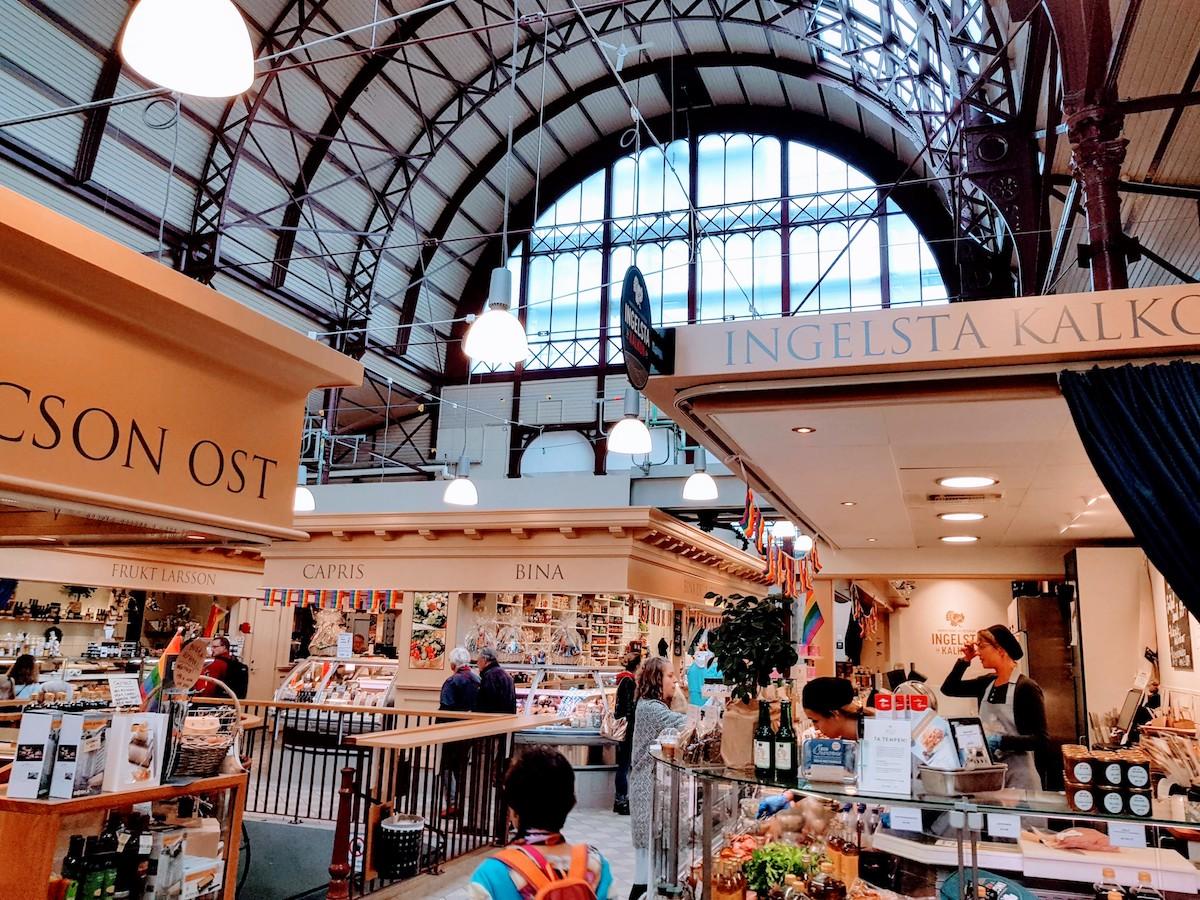 Saluhallen - Die Markthalle in Göteborg