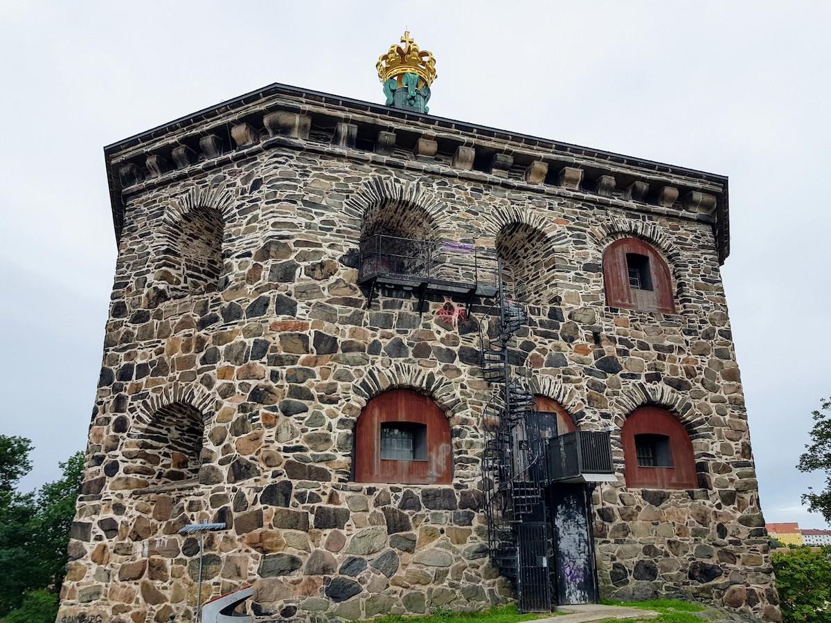 """Vom Festungsturm """"Skansen Kronan"""" bietet sich ein herrlicher Ausblick über die Stadt"""
