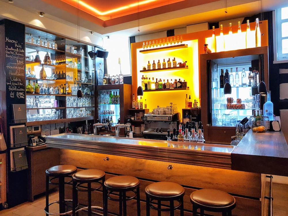 Cocktailbar im Bistro Philippo