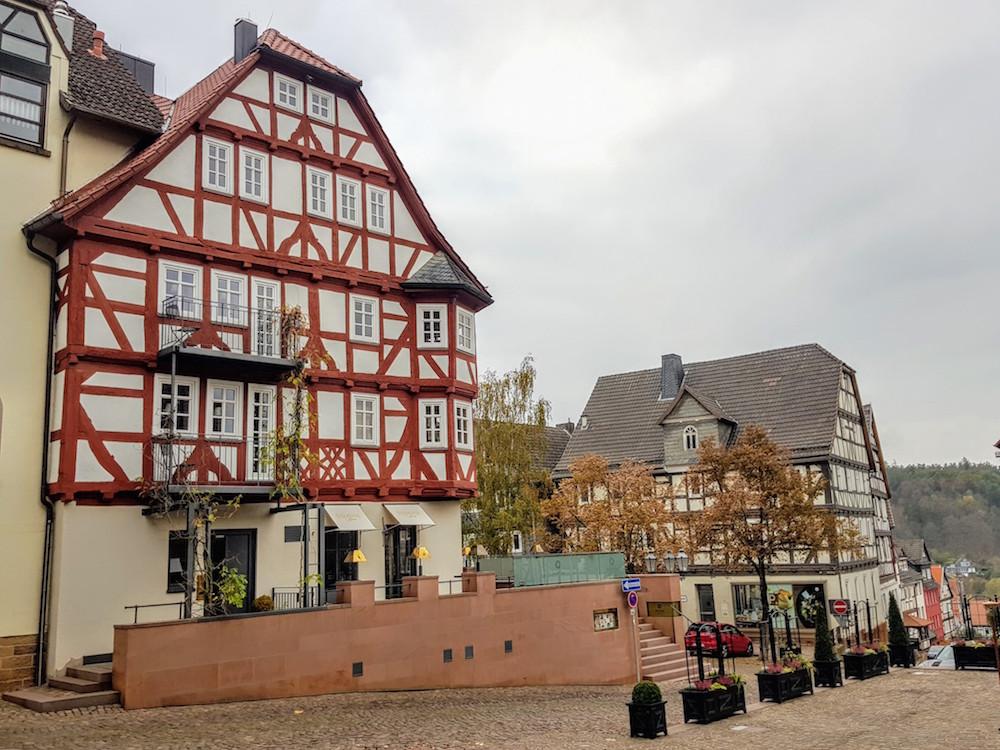 Wir waren im Spa-Gebäude des Hotel Die Sonne Frankenberg untergebracht