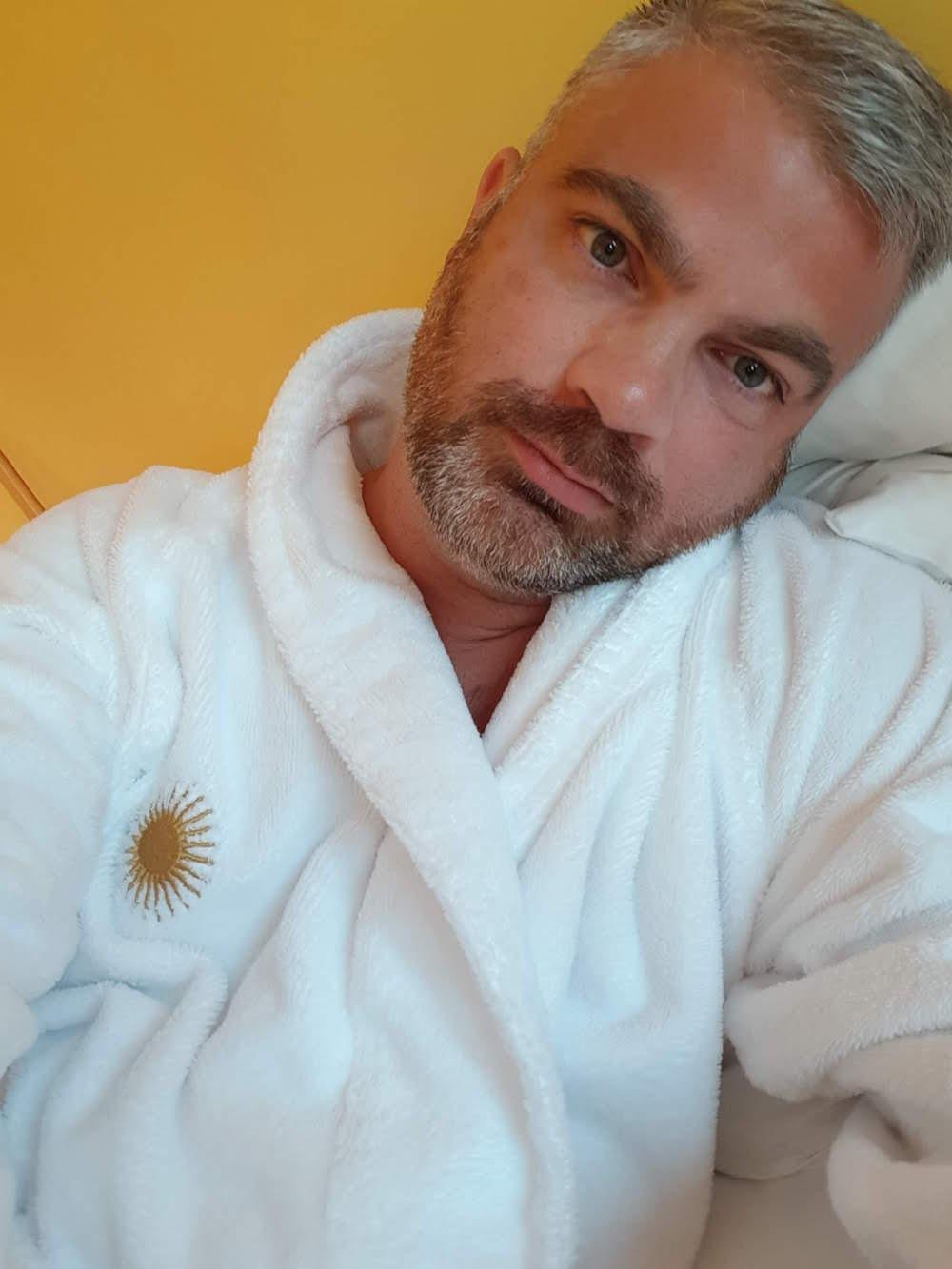 Entspannt und zufrieden nach der Massage im SonneSpa