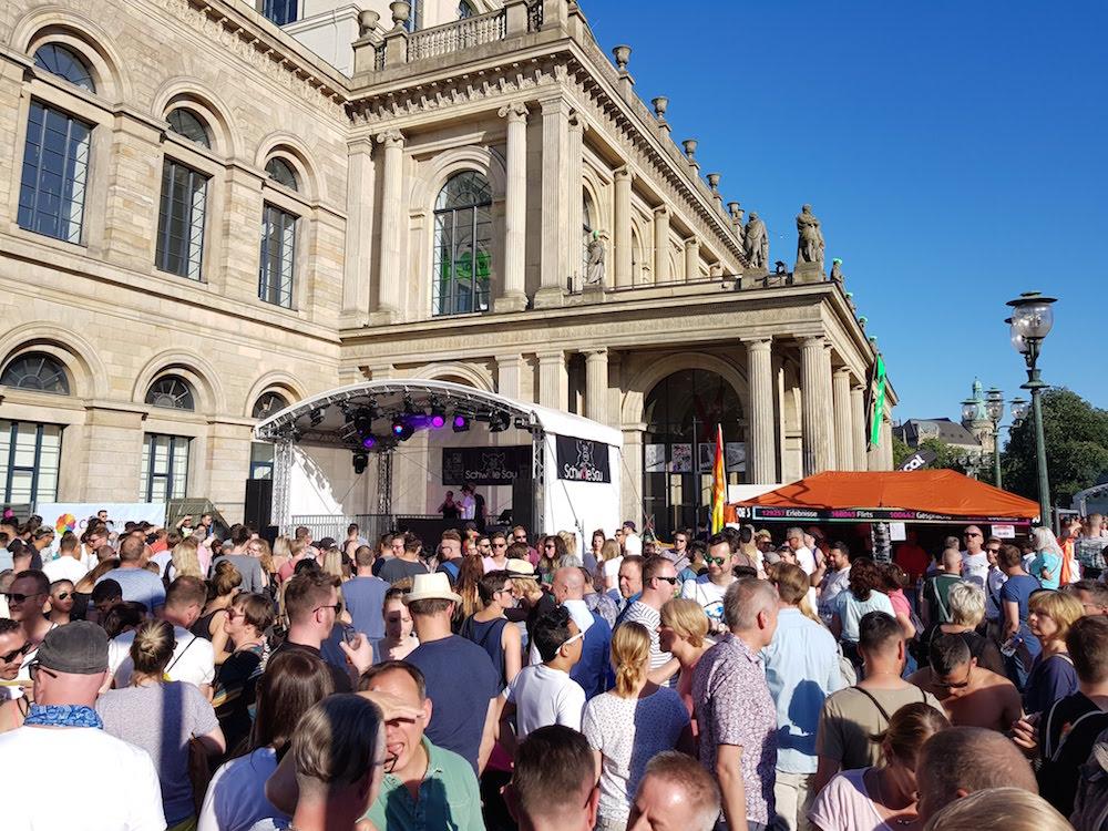 Gayurlaub zum Hannover-CSD über Pfingsten:
