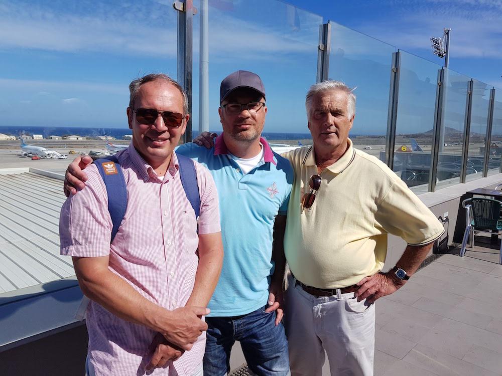 Mit meinem Vater auf Gran Canaria