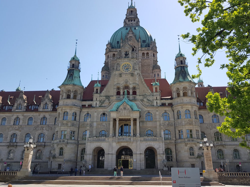 Top-Sehenswürdigkeit in Hannover: Das Neue Rathaus