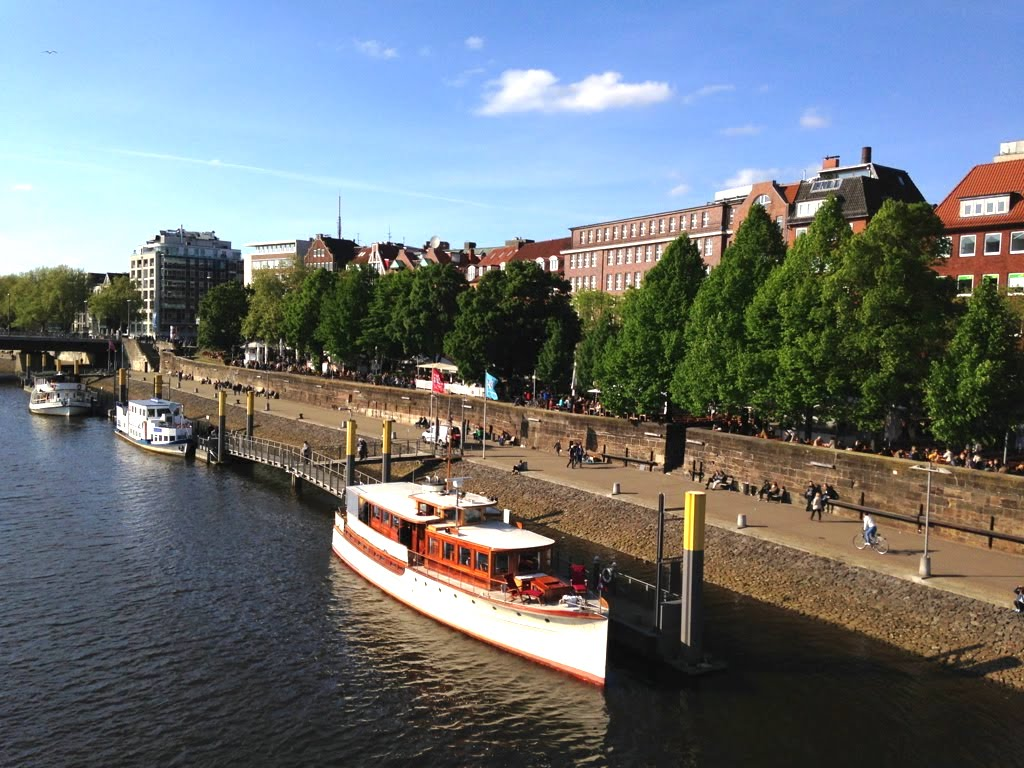 Weserpromenade: Mein Lieblingsort in Bremen