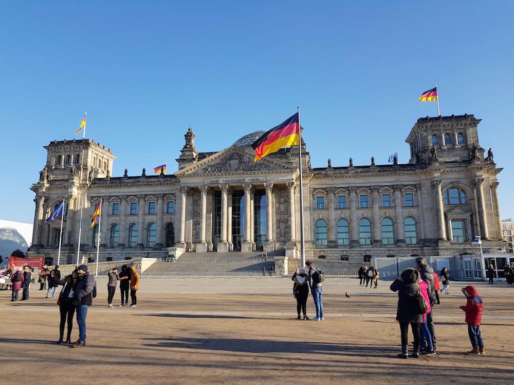Besuch im Bundestag mit Plenardebatte