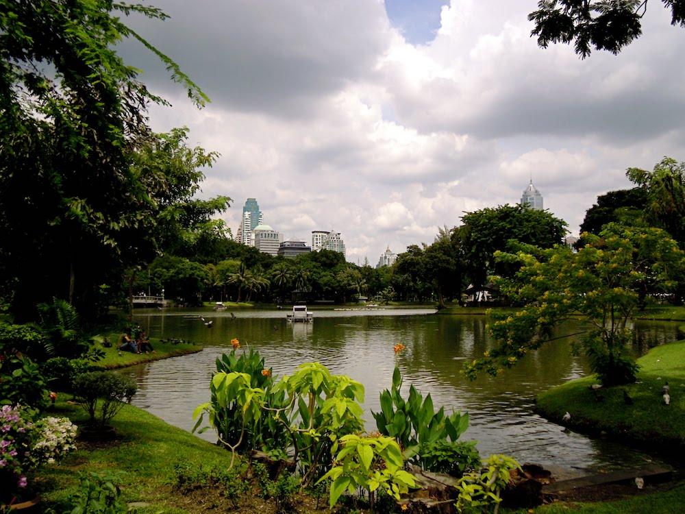 Gayreisen Bangkok: Der Lumphini-Park ist eine beliebte Cruising-Area