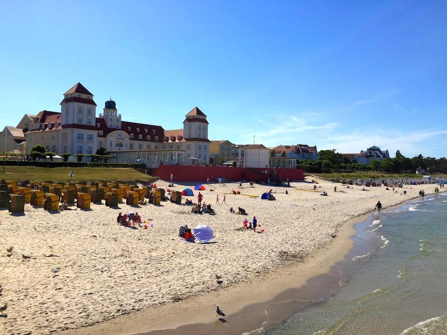 Gayurlaub Binz: Kurzhaus und Strand