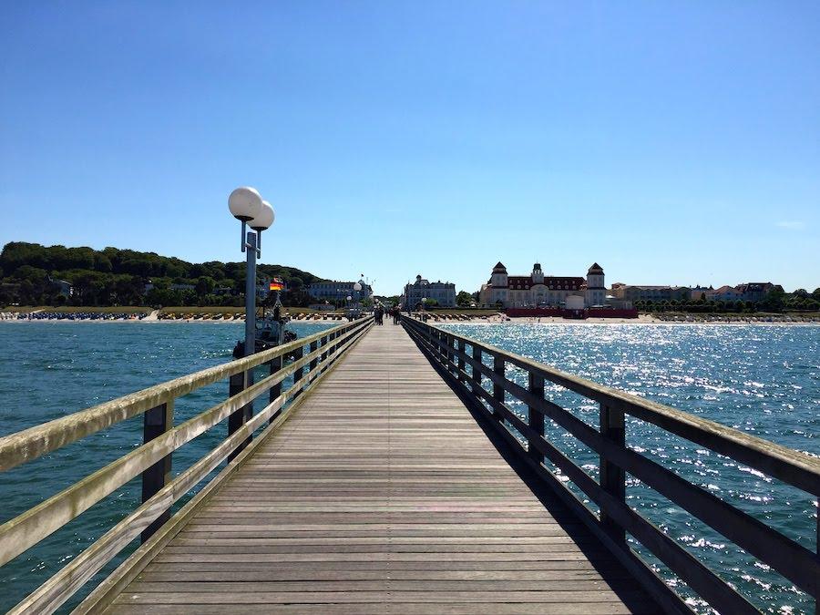 Die Seebrücke: Toller Fotospot für Gayurlaub in Binz