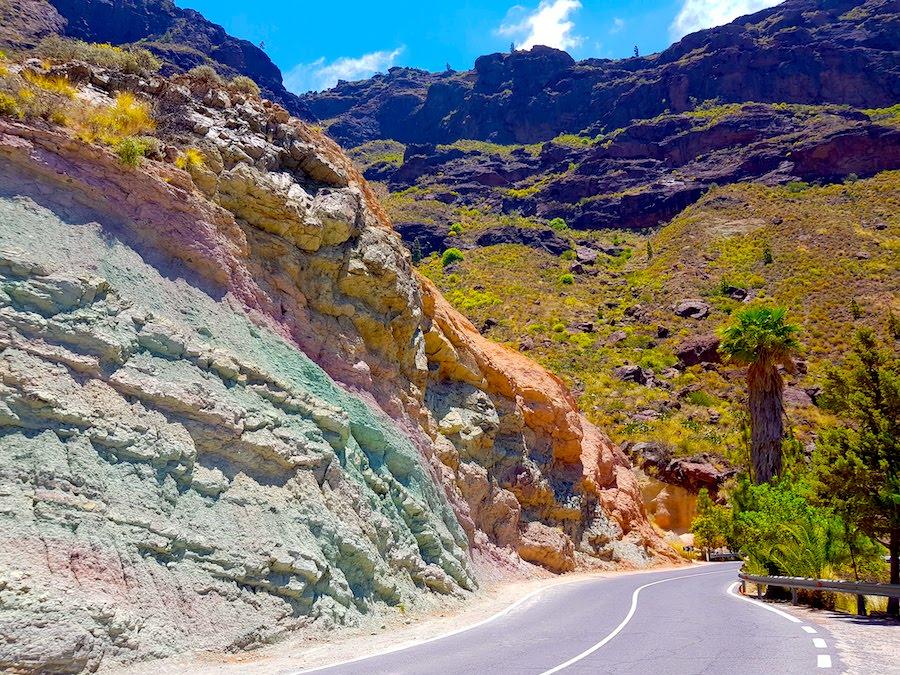 Einer der weniger bekannten Fotospots auf Gran Canaria: Los Azulejos