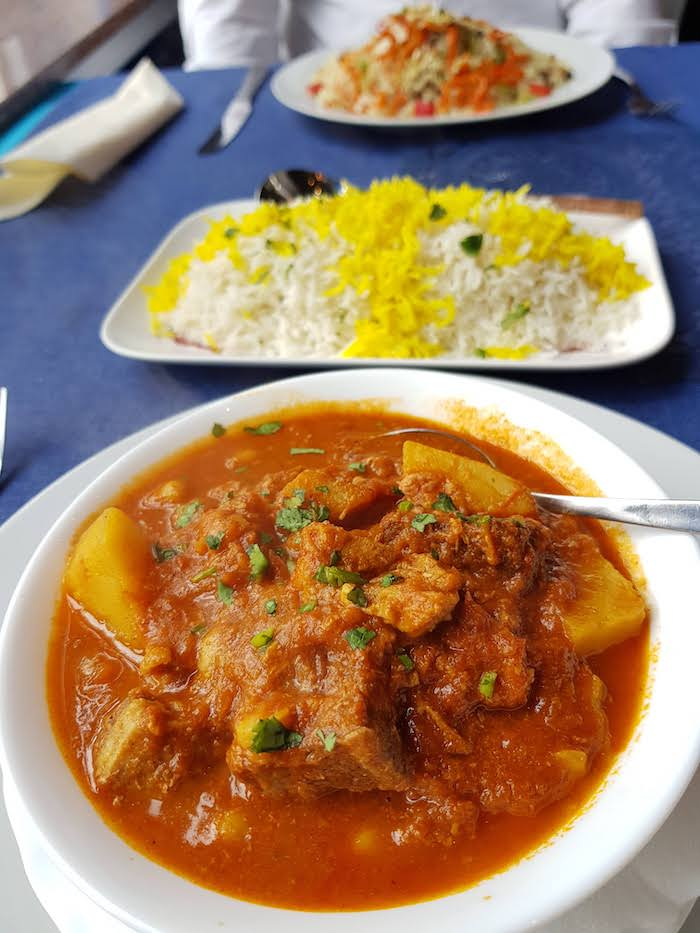 Afghanisch-persisches Restaurant in Minden
