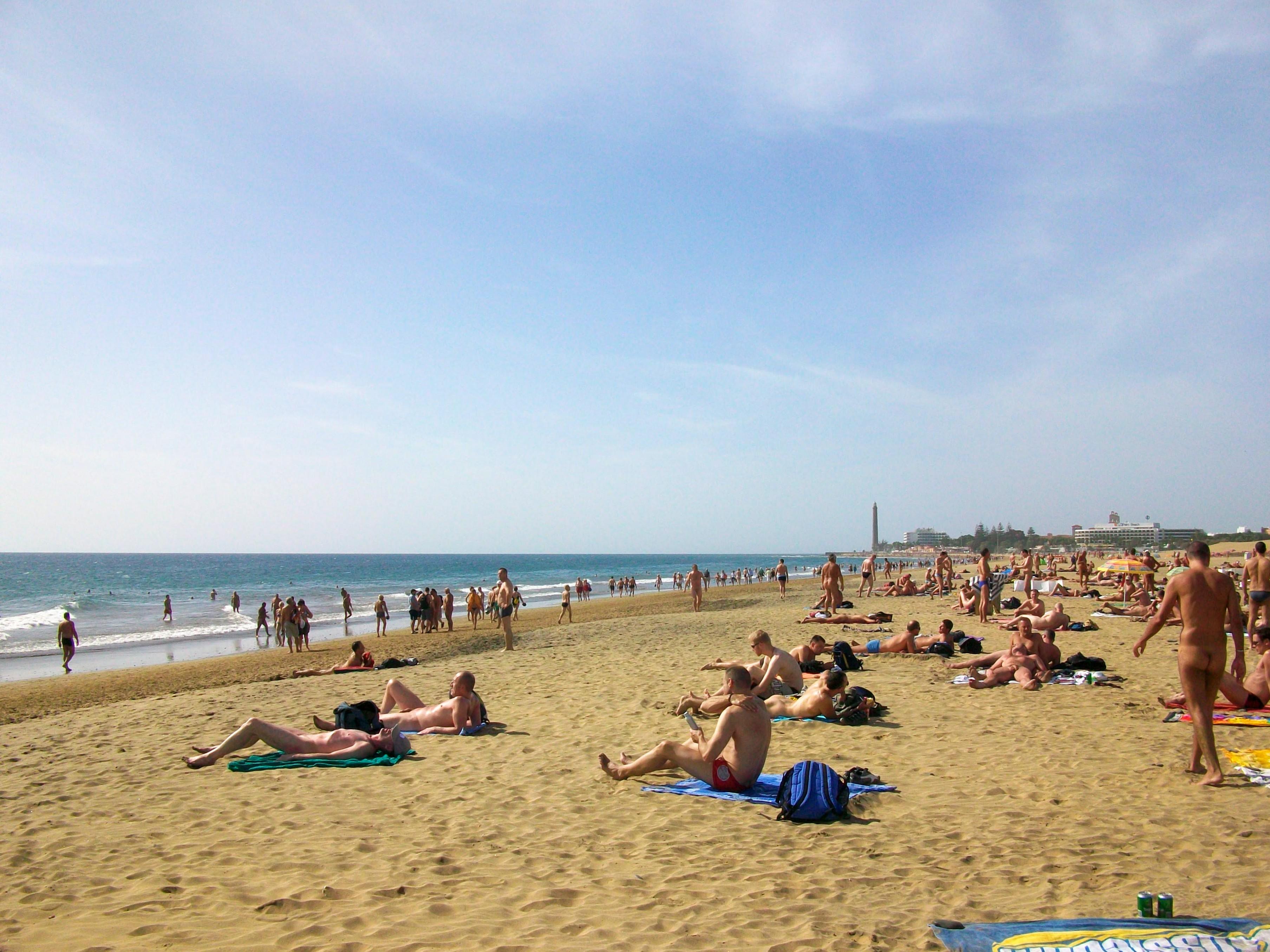 Gay FKK-Strand in Maspalomas auf Gran Canaria
