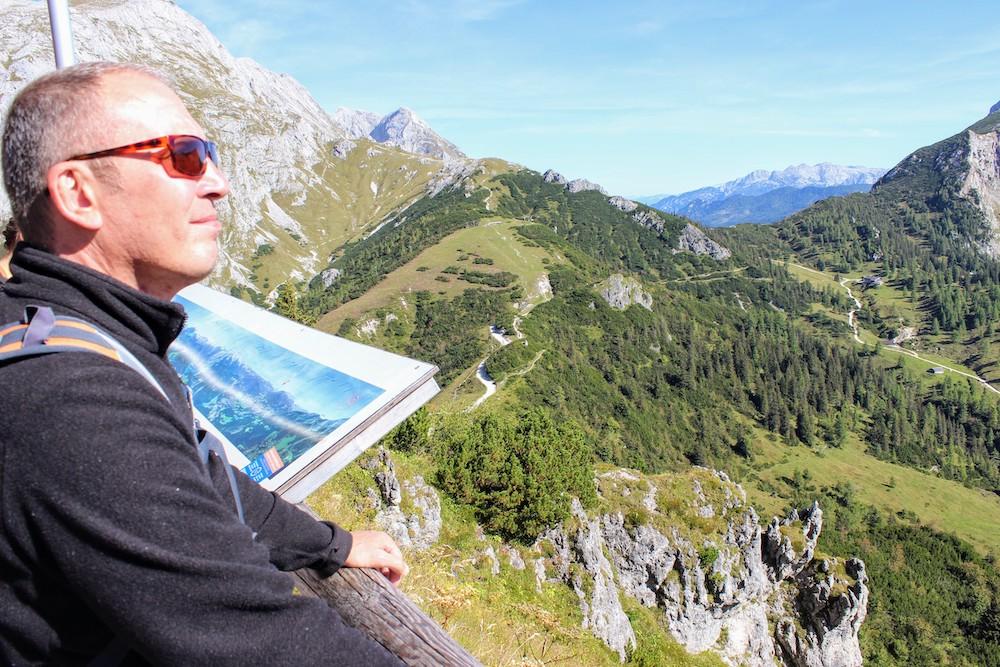 Gay wandern in den Alpen