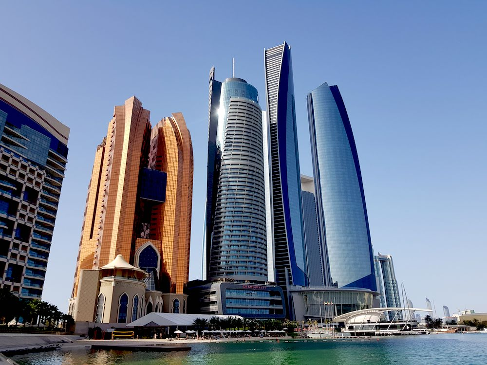 Etihad Towers & Observation Deck at 300