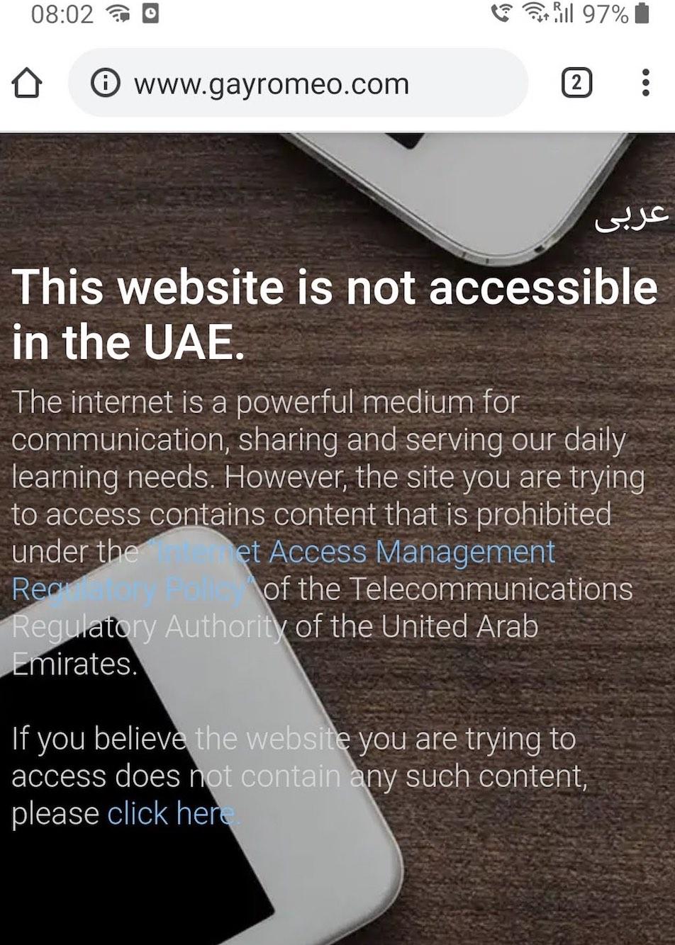 Gayurlaub muslimisches Land: Pornoseiten und Dating-Portale sind gesperrt