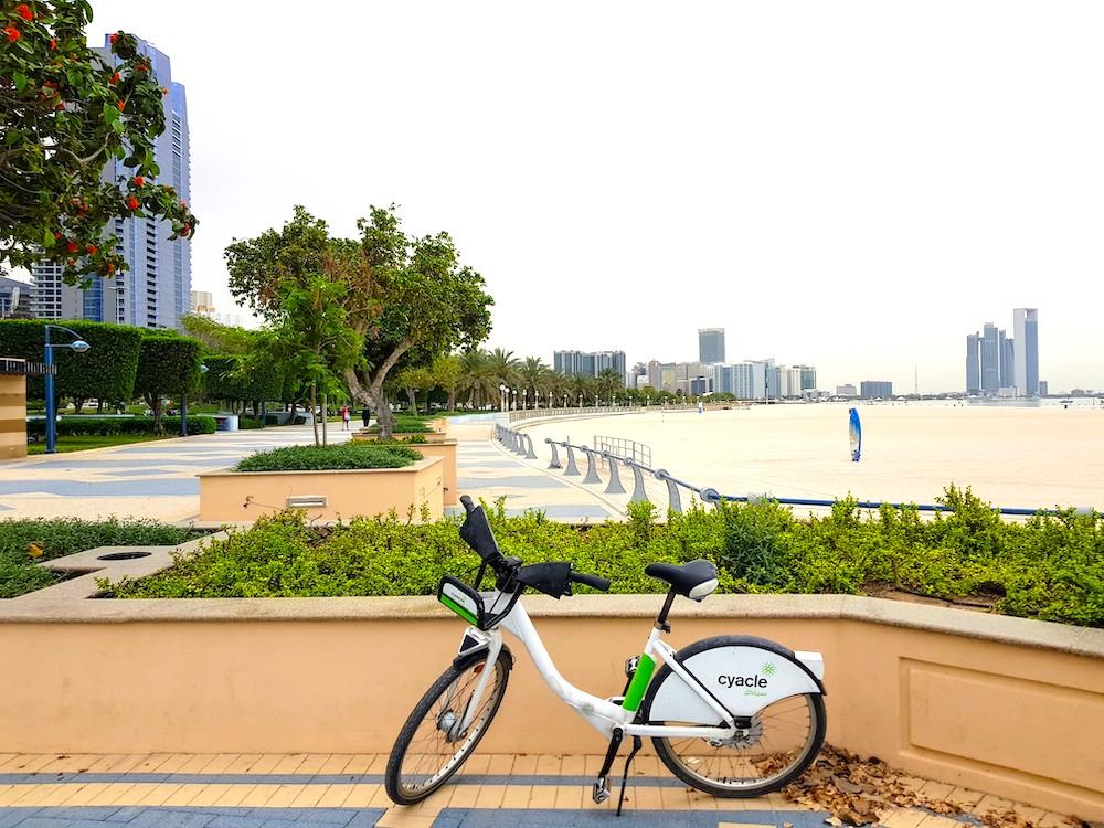 Radtour in Abu Dhabi