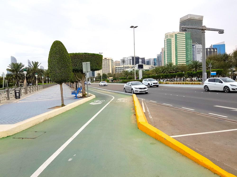 Radweg in Abu Dhabi: Radtour entlang der Corniche