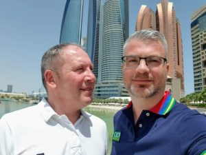 Gay Reiseblogger - Mario & Matthias