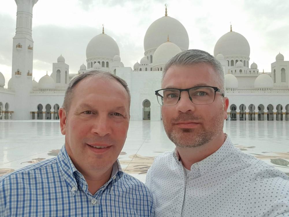 Scheich-Zayid-Moschee in Abu Dhabi Besichtigung