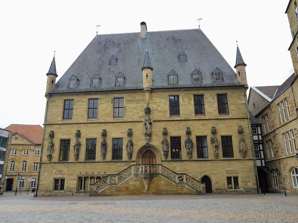 Osnabrück Gayurlaub: Rathaus des Westfälischen Friedens