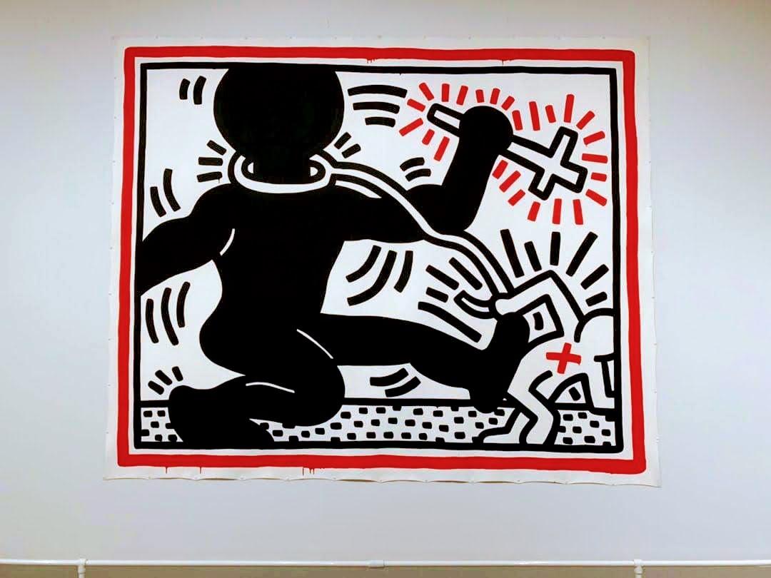 Berühmt ist Keith Haring vor allem für seine Figuren