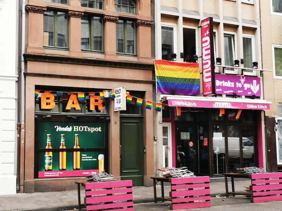 Gay Bars Köln: Schwule Szene in der Schaafenstraße