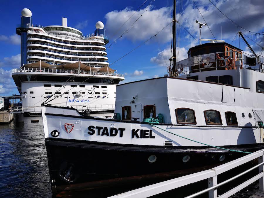 Unsere Ostsee-Kreuzfahrt auf AIDAprima startete in Kiel