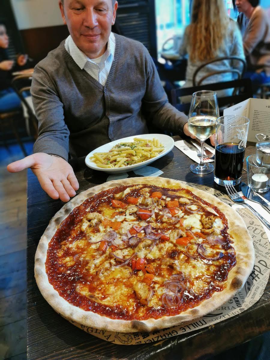 Riesige Pizza in Dortmund!