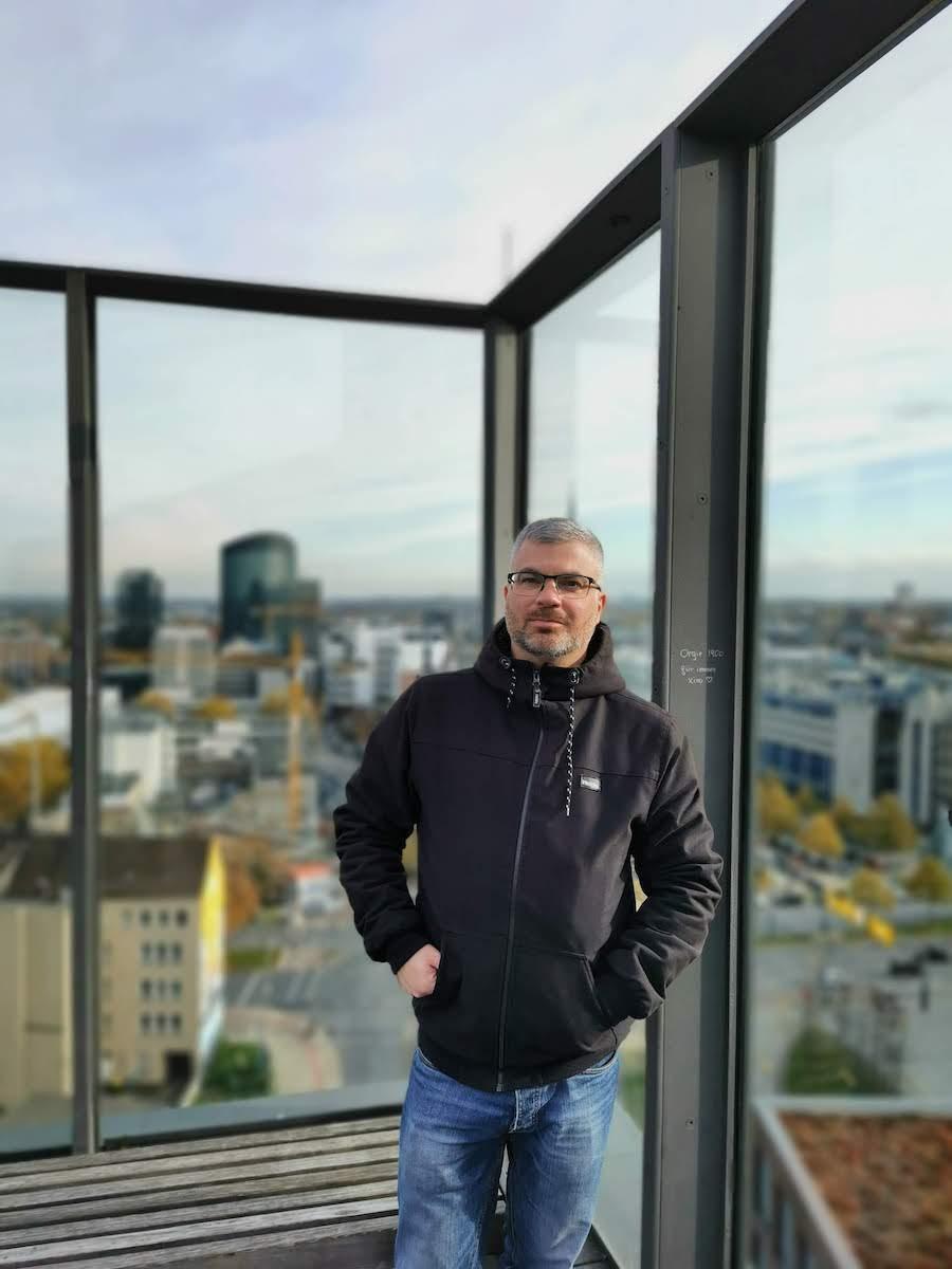Auf der tollen Dachterrasse des Dortmunder U